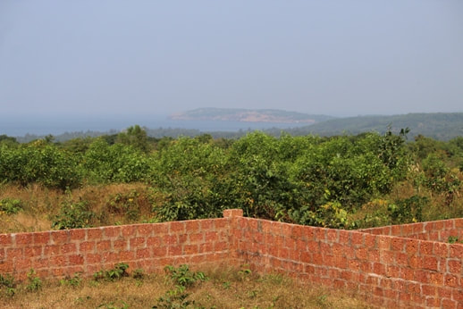 sea facing oceanic view NA plots Ganpatipule