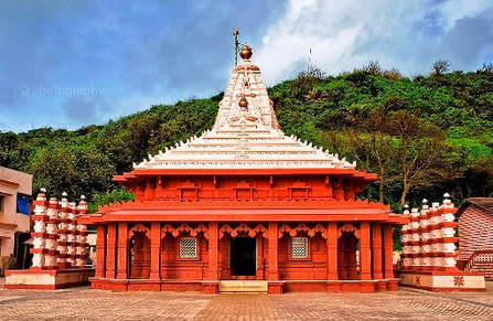 Ganpatipule temple near Beach Flora